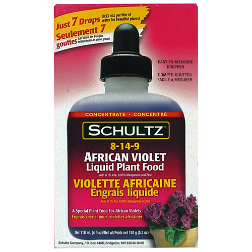 SCHULTZ Fertilizer - African Violet Plant Food 8-14-9 1800140 | RONA
