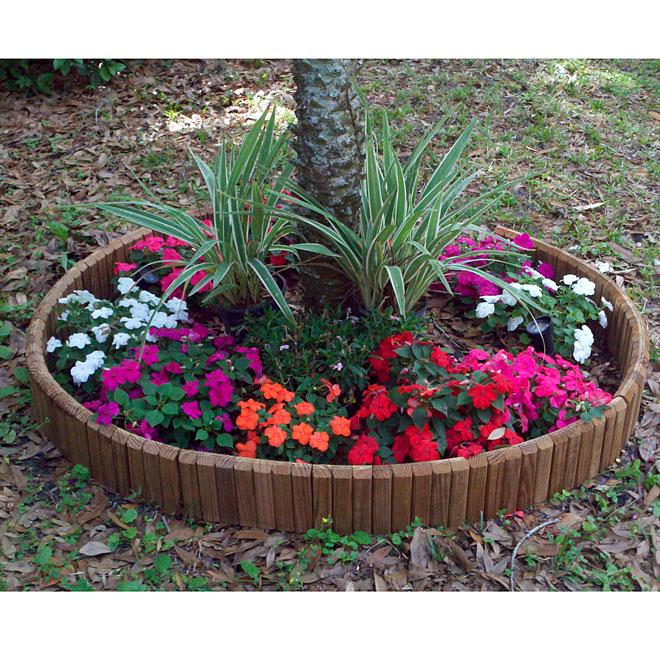 Bordure de jardin en bois | RONA