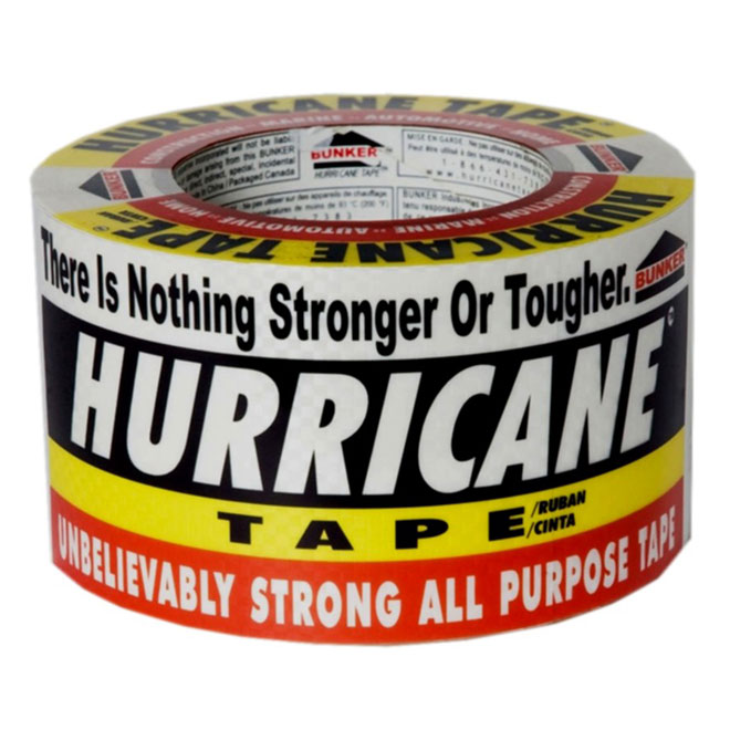 "All-Purpose Tape - Hurricane - 3"" x 180'"