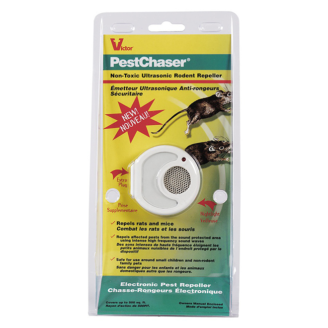 Victor - Rodent Repellent - Pest Chaser -  Ultrasonic