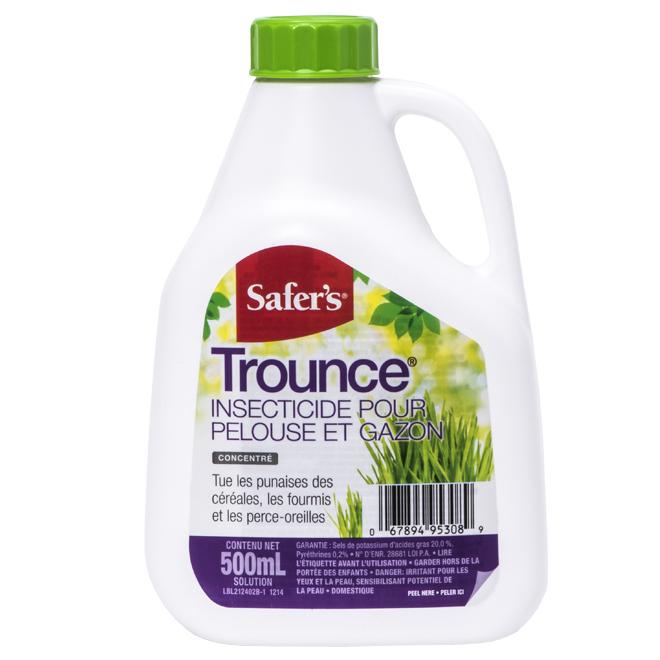 Insecticide pour la pelouse et le gazon, Trounce(MD), 500 ml