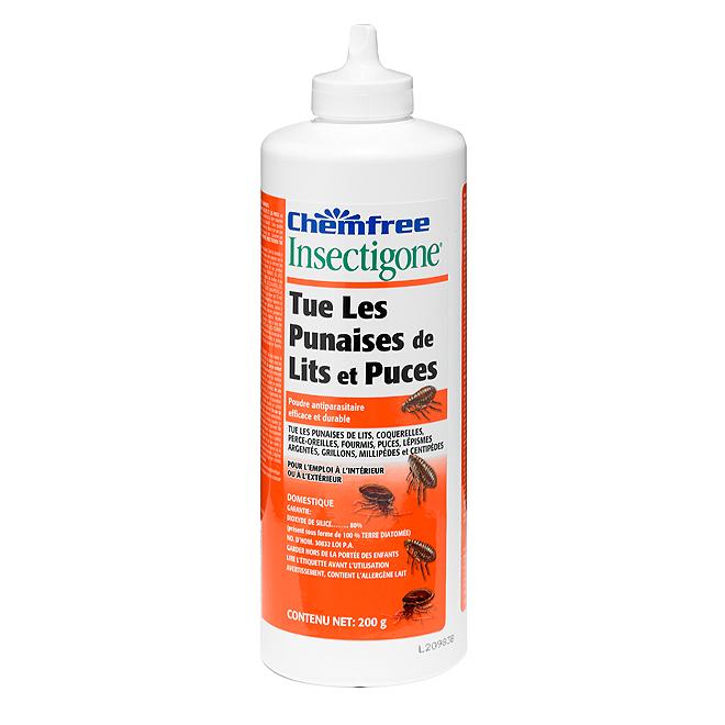 Insecticide En Poudre Pour Punaises De Lit Et Puces