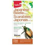 Sacs de rechange pour piège à scarabées Japonais, 3/pq