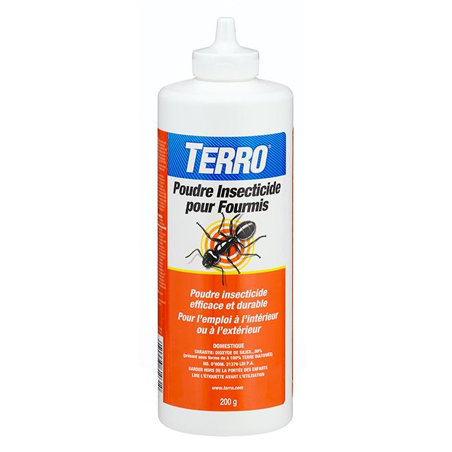 Poudre insecticide pour fourmis, terre diatomée, 200 g