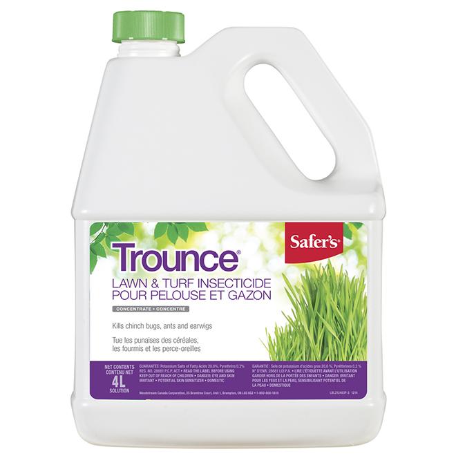 Insecticide concentré pour pelouse et gazon, 4 l