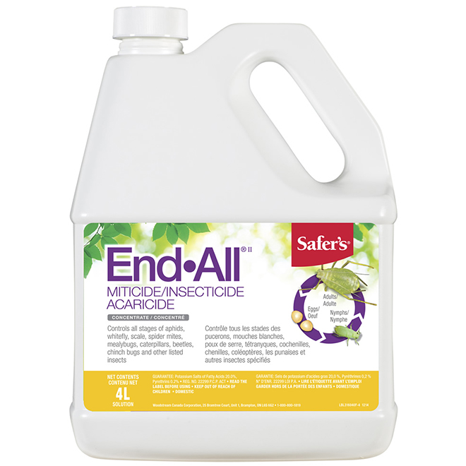 Miticide Insecticide - Concentrate - 4 L