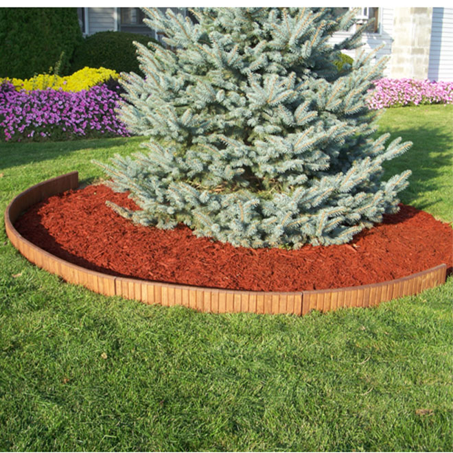 Wooden Lawn Edging - 3 ft.