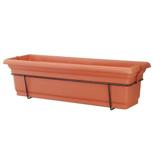 """Distinction"" Balcony Planter - Terracotta"