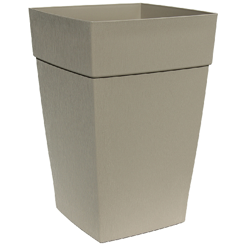 DCN Harmony Tall Planter - Plastic - 12-in x 18-in - Portobello