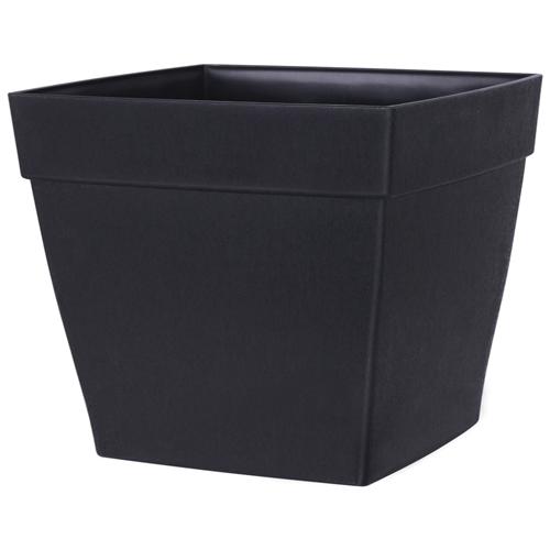 DCN Harmony Planter - Resin - 14-in x 16-in - Black