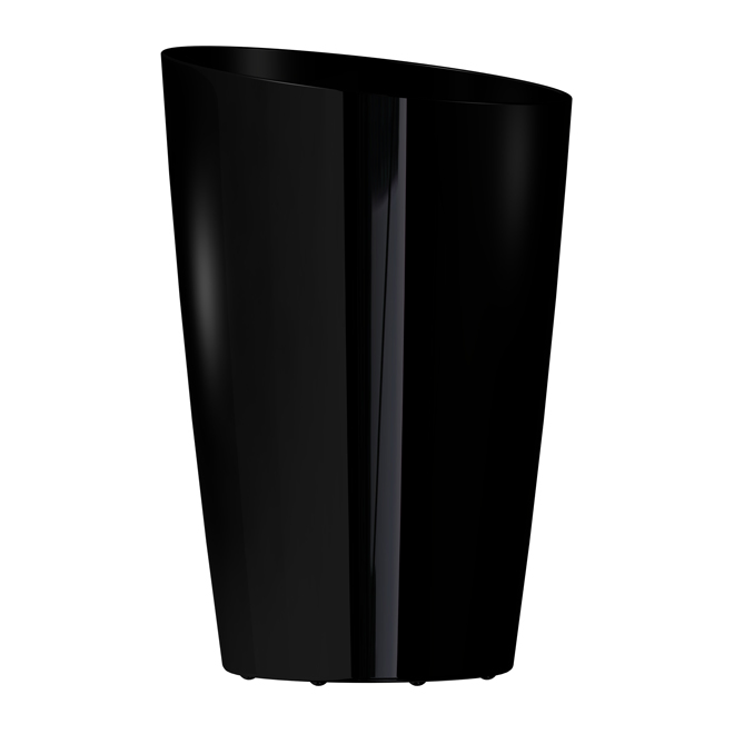 """Mirage"" Elongated Planter - Black"