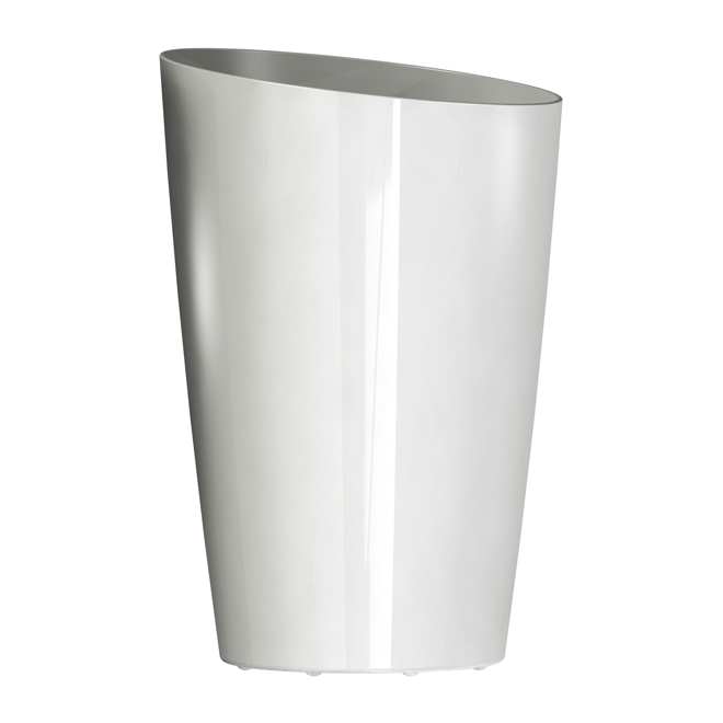 """Mirage"" Elongated Planter - White"