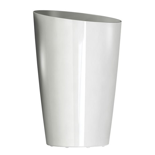 Dcn Quot Mirage Quot Elongated Planter White 2213 09 Rona