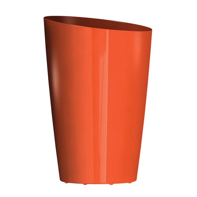 """Mirage"" Elongated Planter - Orange"