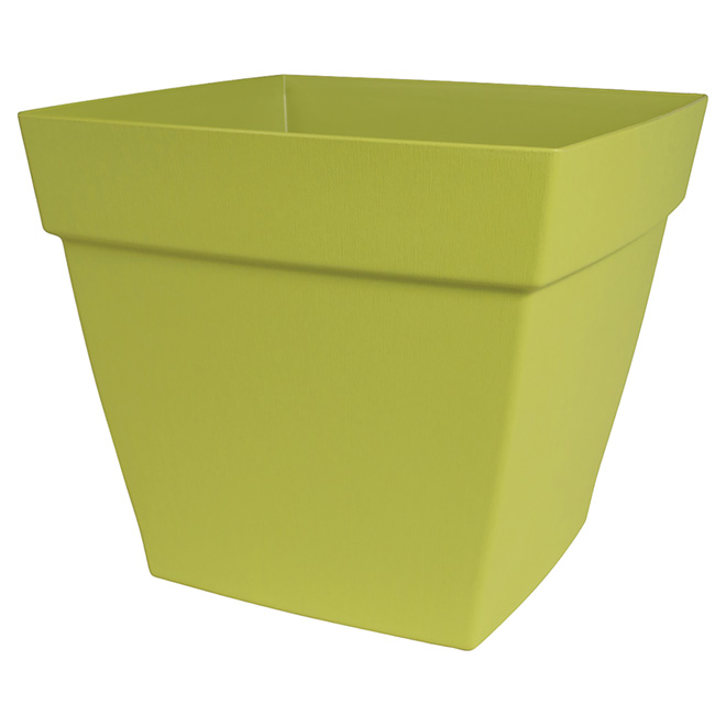 """Harmony"" Square Planter - Green"