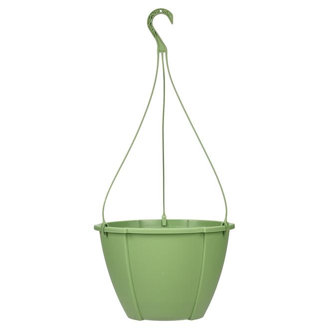 """Quattro"" Hanging Planter - Green"