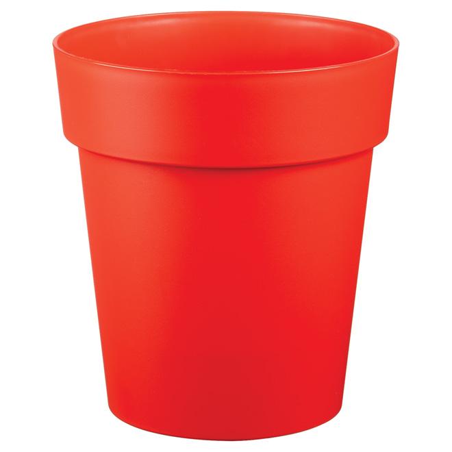 "Planter Pot - ""Viva"" - 9"" - Flat Red"