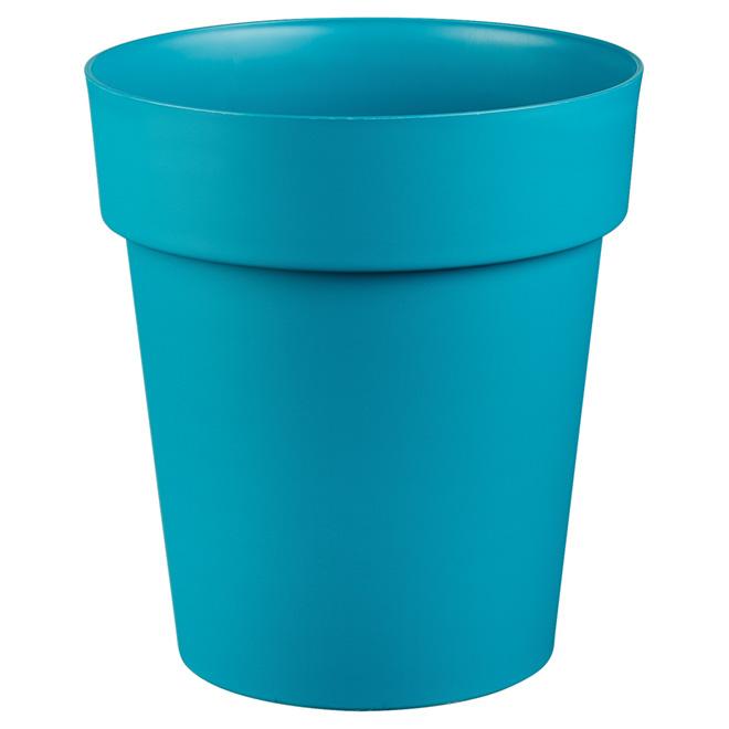 """Planter Pot - """"Viva"""" - 11"""" - Flat Blue"""