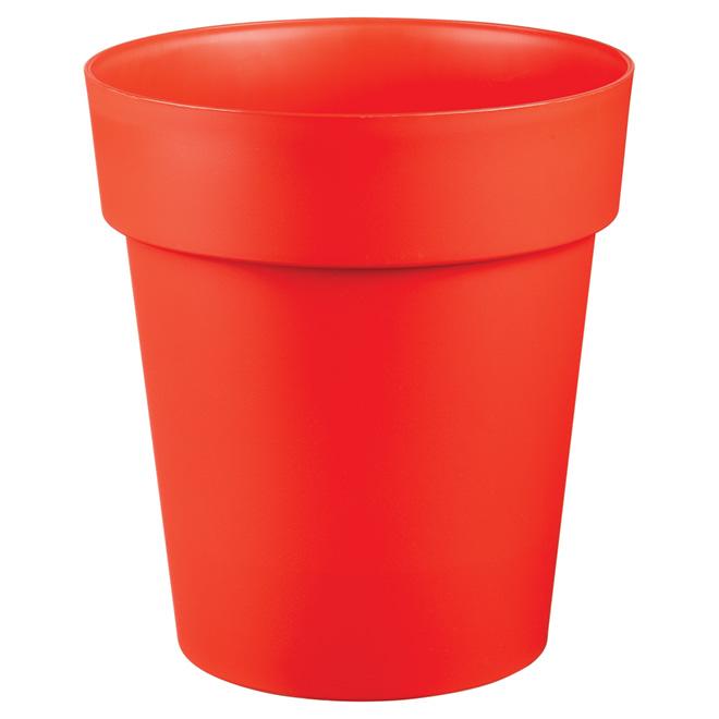 Planter Pot - Viva - 11-in - Flat Red