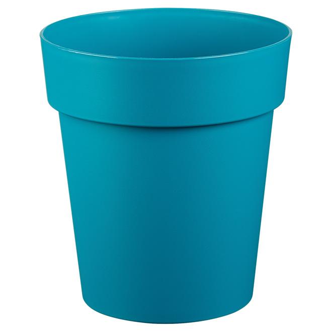 """Planter Pot - """"Viva"""" - 9"""" - Flat Blue"""