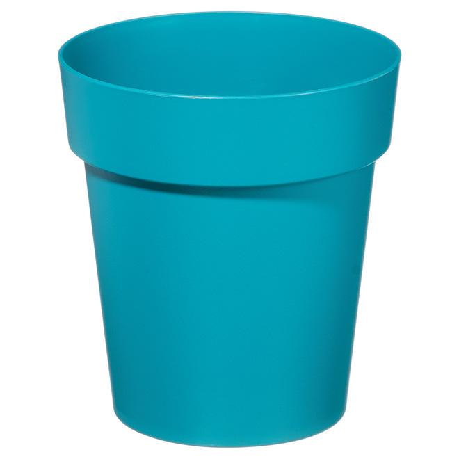 """Planter Pot - Viva - 7"""" - Flat Blue"""