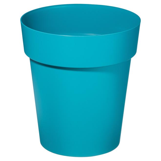Planter Pot - Viva - 13-in - Matte Blue