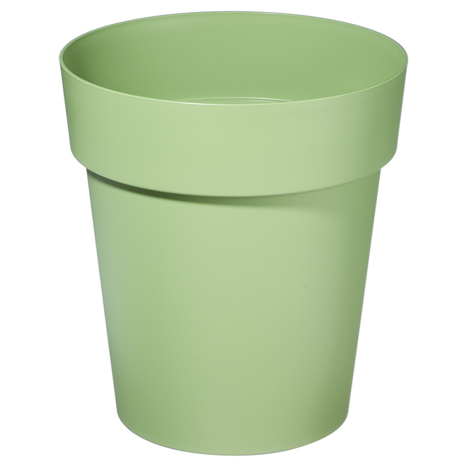 "Planter Pot - Viva - 13"" - Flat Green"
