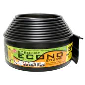DCN Econo Lawn Edging - 4-in x 20-ft - Plastic - Matte Black
