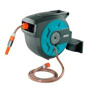 Wall-Mount Auto-Roll Hose Reel - 50'