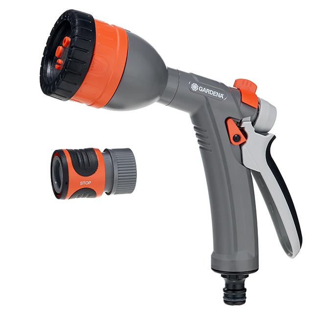 Gardena Spray Gun - Multi-Fonction - Grey/Orange