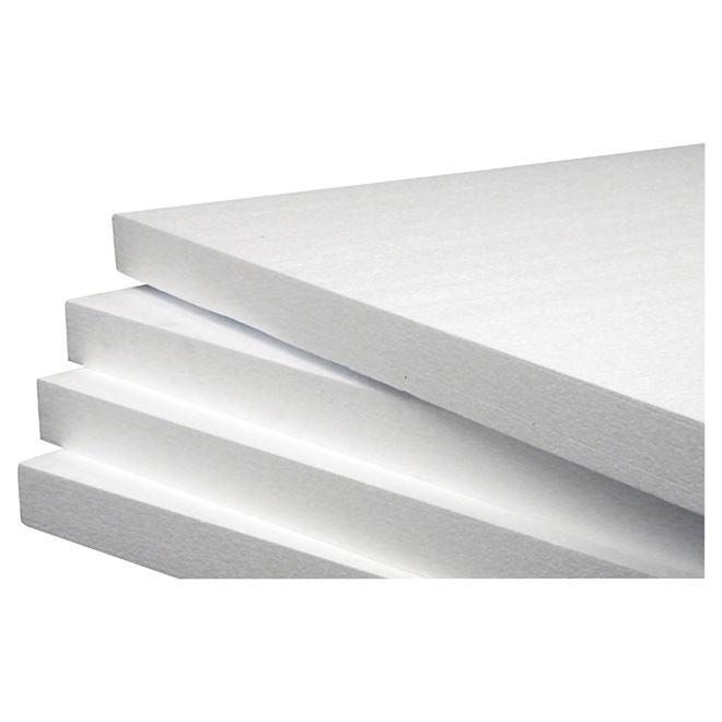 "EPS Insulation Panel Type I - 1 1/2"" x 4' x 8' - White"