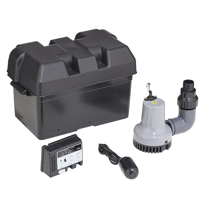 Emergency Back-up Pump System - 12 V - Black