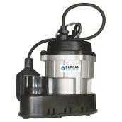 Sump Pump with Mechanical Switch - 1/2 HP - Cast Iron