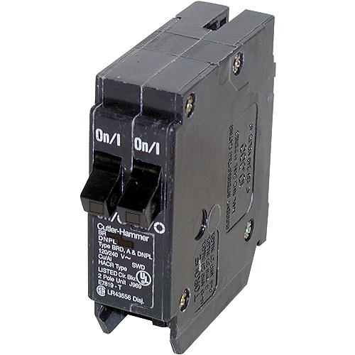 Disjoncteur DNPL enfichable 120 VAC 15-20 A 1-1 pôle