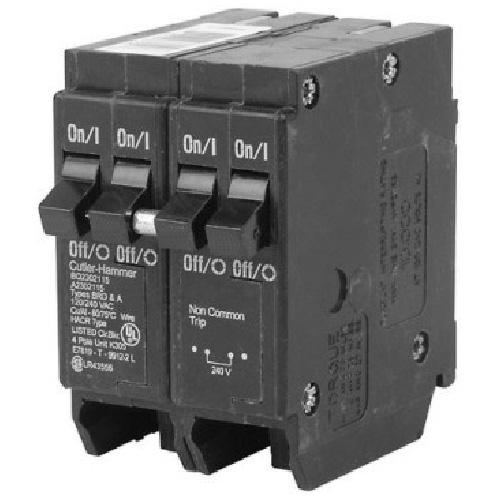 120 VAC 120/240 VAC 120 VAC 15-20-15 A DNPL Circuit Breaker