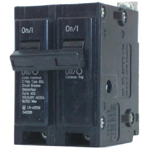 120/240 VAC 60 A BQL Circuit Breaker 2 Pole Bolt-On