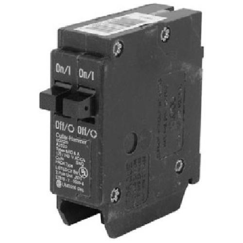 120 VAC 20-20 A DNPL Circuit Breaker 1-1 Pole Plug-In