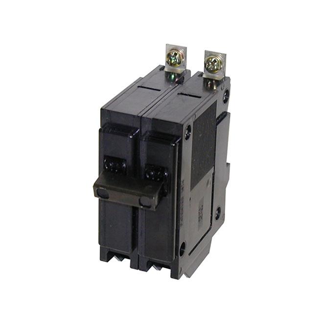 Disjoncteur à pôle double Eaton, Type QHB, 50 A
