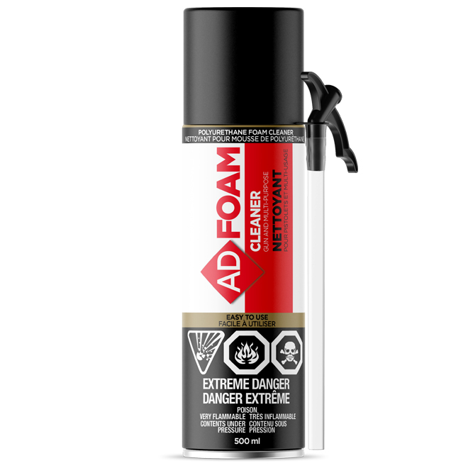 Adfoam Foam and Gun Cleaner - 500 ml