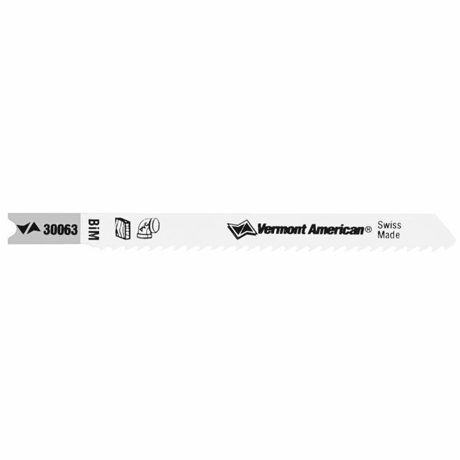 "Bi-Metal U-Shank Jigsaw Blade - 10 TPI - 3 5/8"""