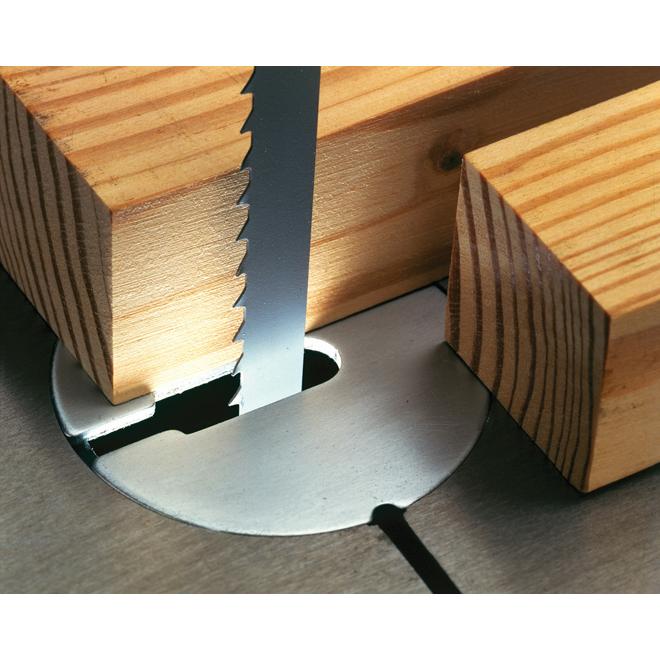 Lame de scie à ruban pour le bois, 72 7/16'' x 3/8'', 4 dents