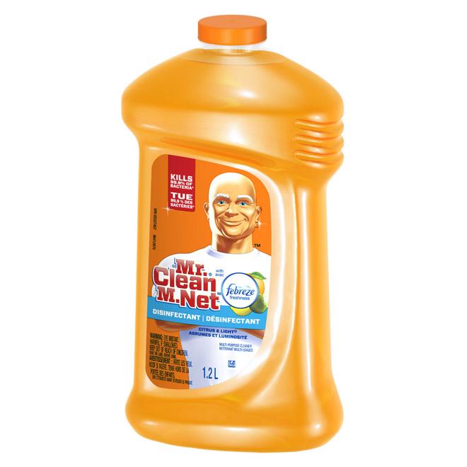 Citrus and Light Multi-Purpose Disinfecting Liquid Cleaner