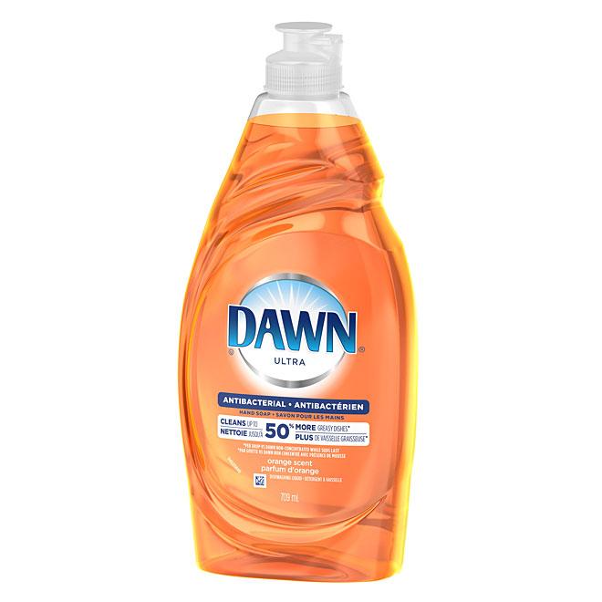 Dawn Antibacterial Dishwashing Soap - Orange Scent - 709 mL