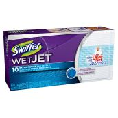 Coussins de recharge pour balai à pile « Swiffer Wetjet »