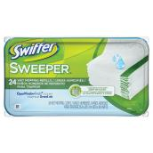 """Swiffer Sweeper"" Wet Mop Cloth Refill"