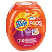 Détergent à lessive Tide PODS, Spring Meadow, 81 capsules