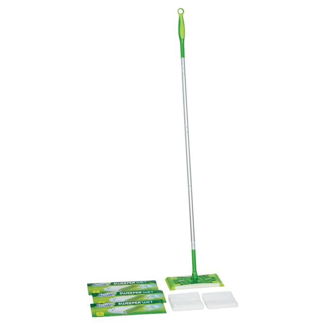 Trousse de balayage sec/humide « Swiffer Sweeper »