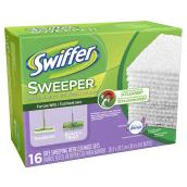 Sweeper Dry Cloth Refill - Lavender Vanilla - 16 Count