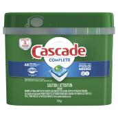 Cascade Dishwasher Detergent - Fresh Scent - 48 action pacs