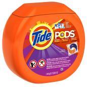 Détergent Tide Pods, parfum de printemps, 57 capsules